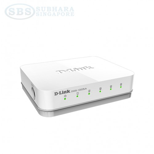 D-Link DGS 1005A 5-Port Gigabit Desktop Switch