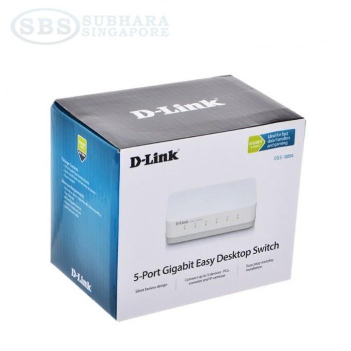 2453f92cb D-Link DGS 1005A 5-Port Gigabit Desktop Switch