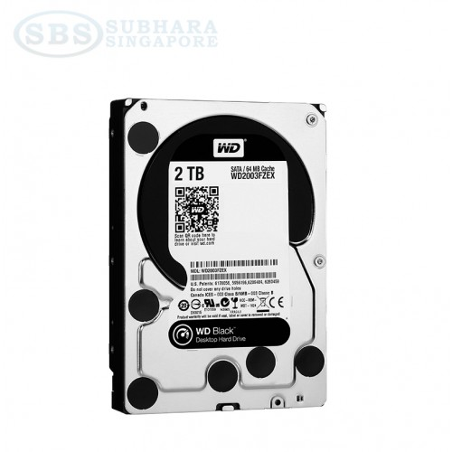 WD Black 2TB HDD 7200 RPM